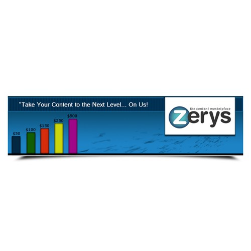 Help Zerys with a new banner ad