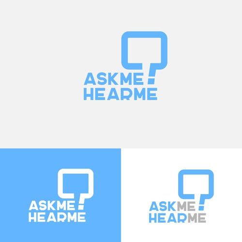 Logo Design Concept for AskMe.HearMe