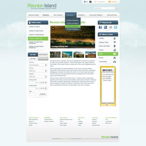 Redesign Reunion Island