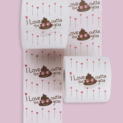 Toilet paper design