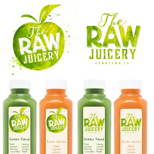 Design a Downtown LA based cold-pressed juice company's logo
