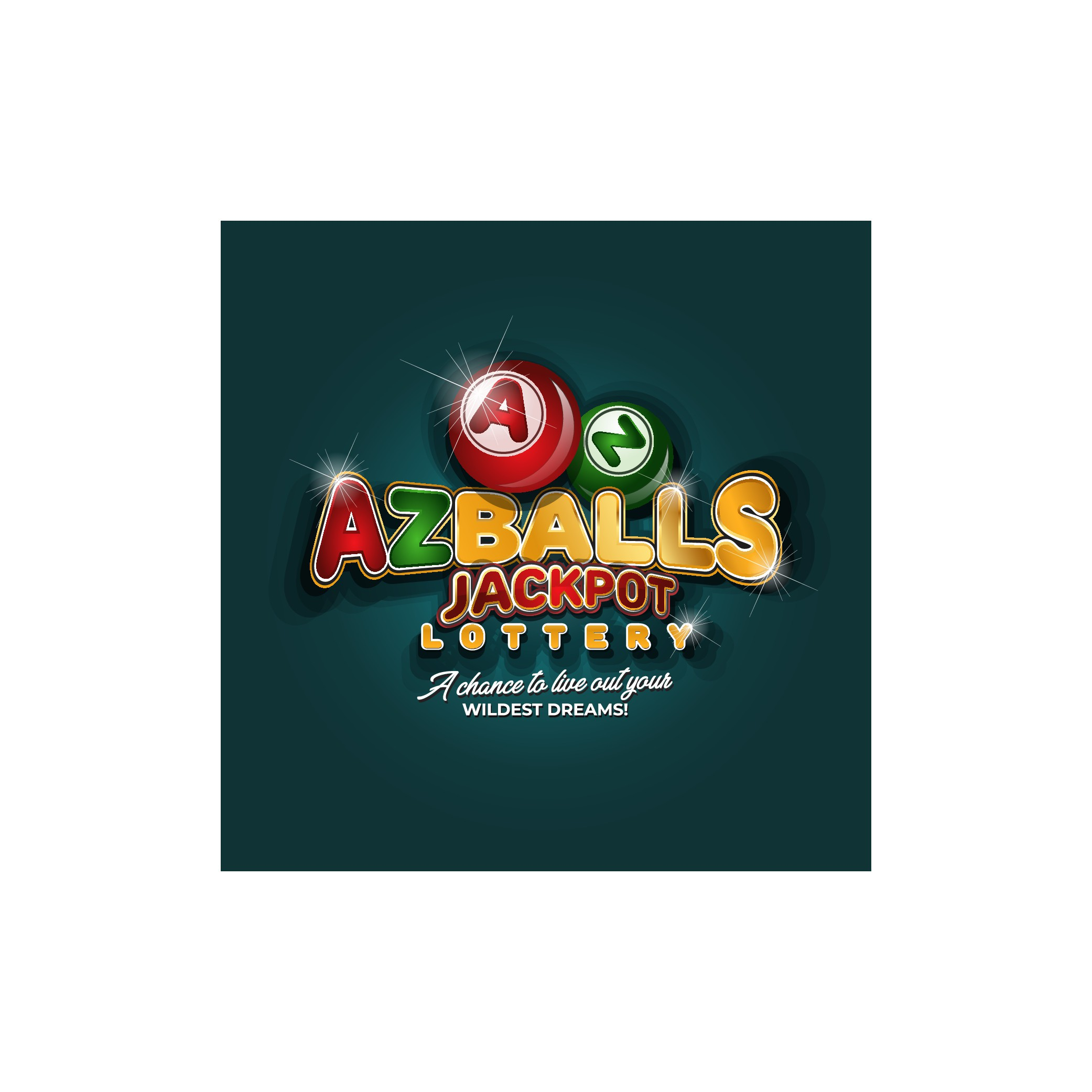 AZballs jackpot lottery needs a lotto style logo using the alphabet