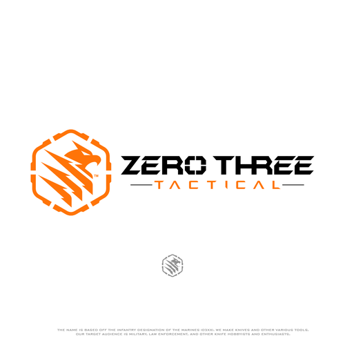 Logo design for Zero Three Tactical