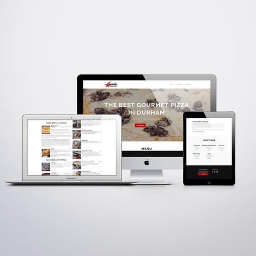 Pizzeria Website and Online Menu
