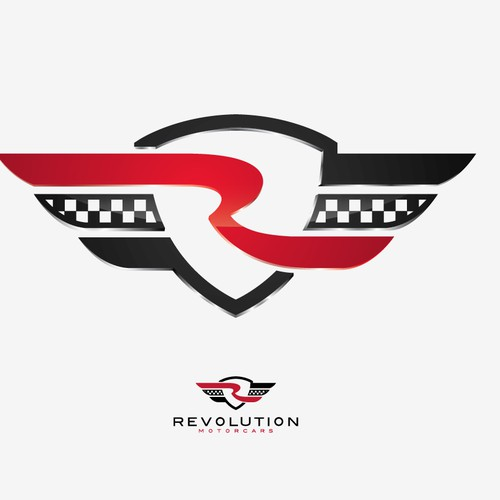 Create perfect logo for Revolution Motorcars