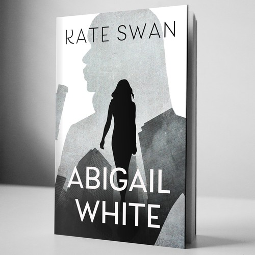 Book cover for 'Abigail White', a sassy English spy...in America