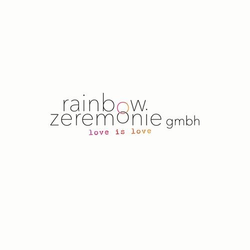 Logokonzept für einen Veranstalter von festlichen Zeremonien in der Gay Community
