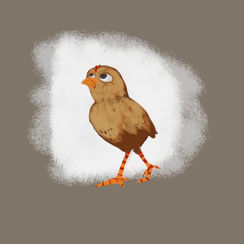 Children's book chick design