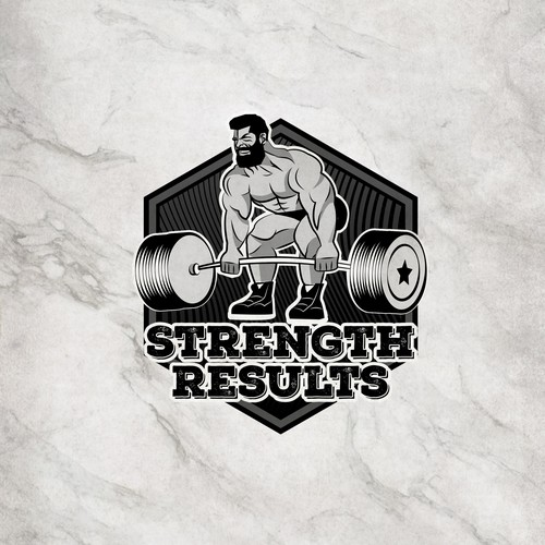 Logo for strength results web site