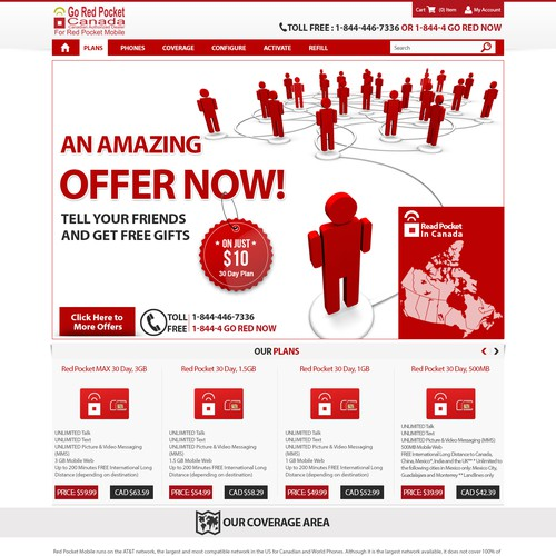 Create that amazing landing page, which will drive sales, and save people money.