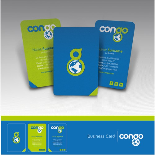 New logo and business card wanted for Congo