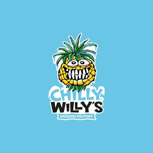 Frozen Pineapple Mascot