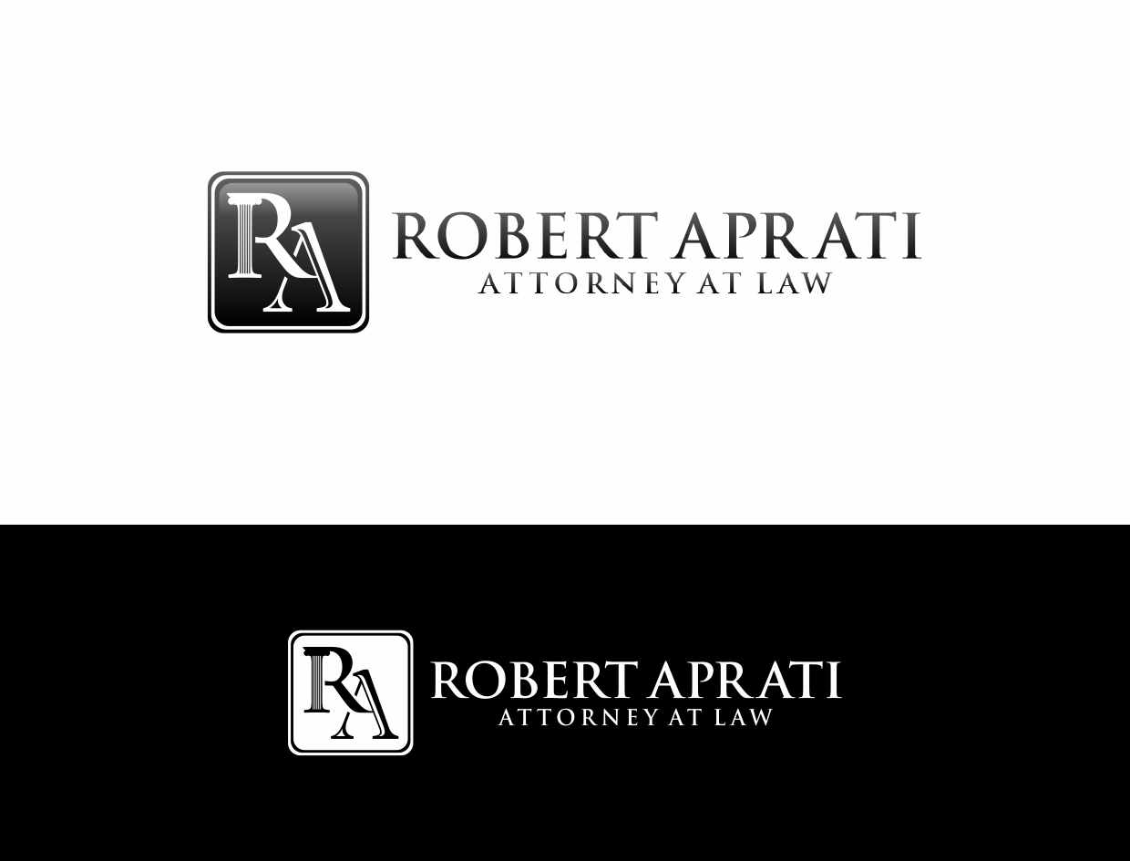 Create the next logo for Robert Aprati, Attorney At Law