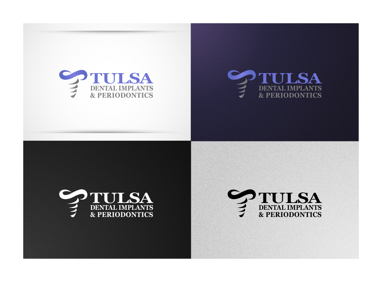 Help Tulsa Dental Implants and Periodontics with a new logo