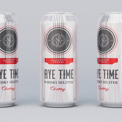 Whiskey Seltzer can design