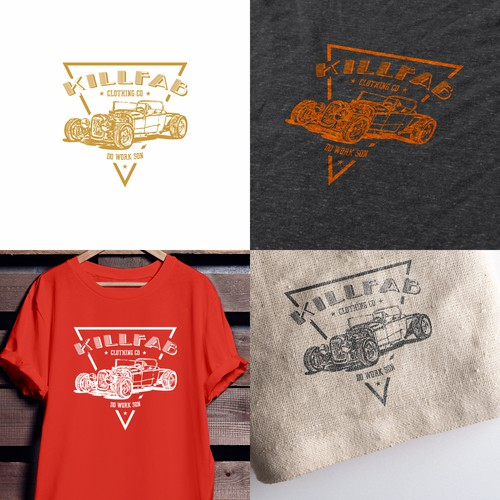 Vintage KillFab Tee Designs