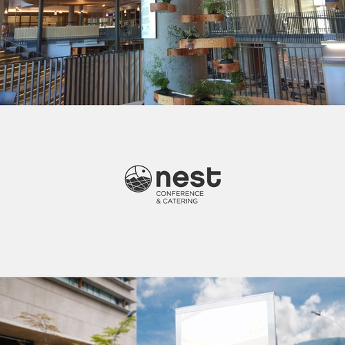 Creative logo concept for NEST.