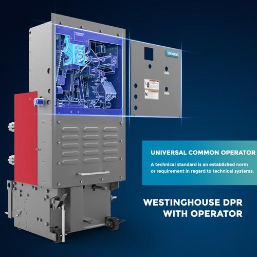 Siemens Equipment 3d Render