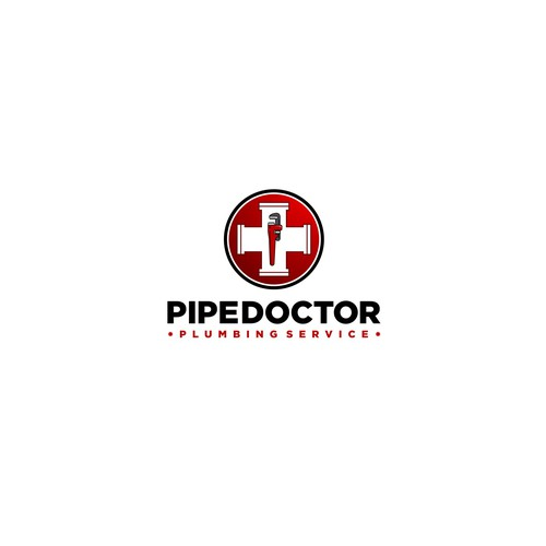 Bold logo for Pipe Doctor