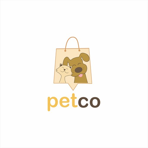 an online store that sells a very high quality of any thing related to animals food accessories logo