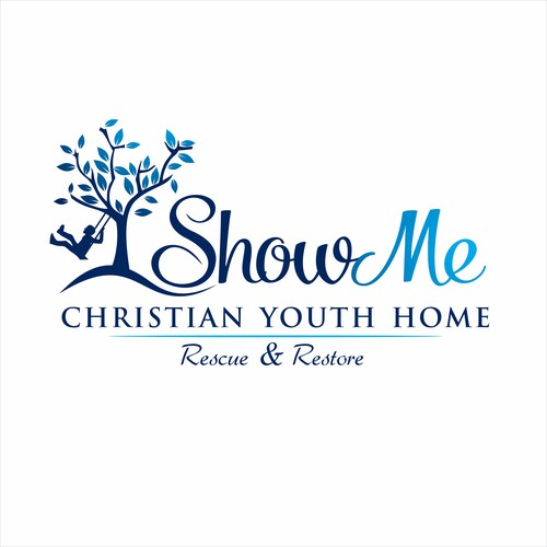 Christian Youth Home logo design