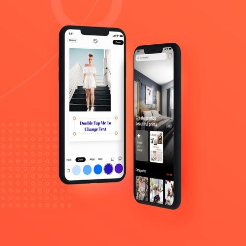 Canvas Creator (UI/UX, App Design)