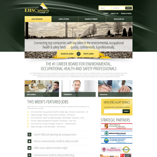 Design us a high-quality website design to compliment our high-quality services