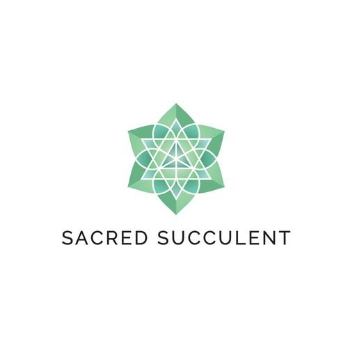 Sacred Succulent Logo