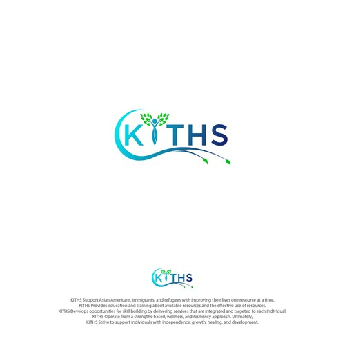 Design a logo for KITHS, a non-profit organization serving the needs of community members in Philly