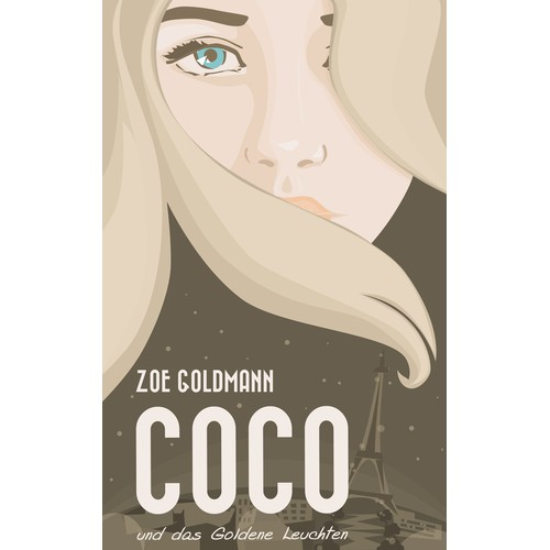 Book Cover for an Urban Fantasy Novel