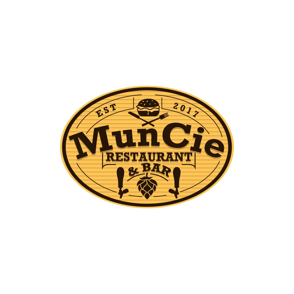 MunCie is a small restaurant/bar 40 taps and food from scratch, the capital C is for my mom r.i.p