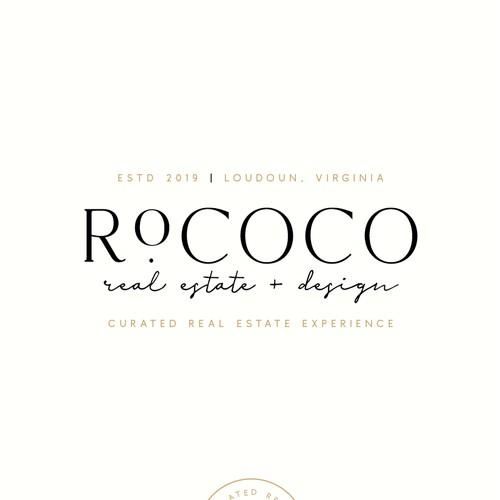 Brand Identity Concept for Rococo Real Estate + Design