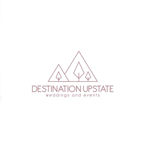 Minimal logo for wedding planning business in NY