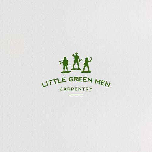 Carpentry logo concept