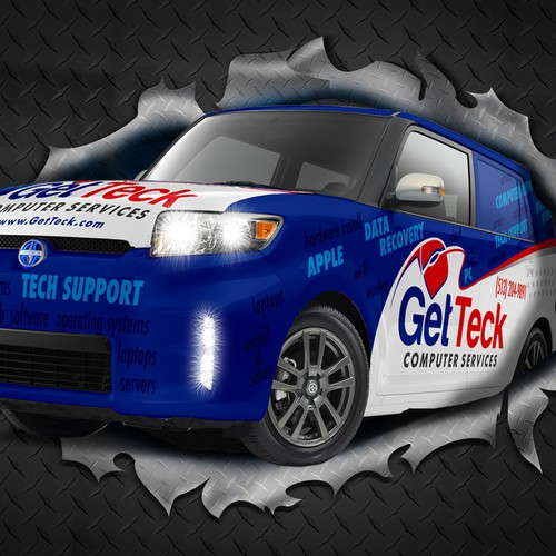 3D Image of GetTeck Vechicle - Free Pick-up & Delivery