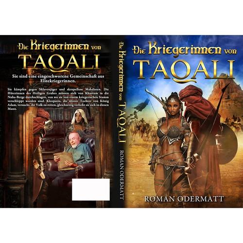 Die Kriegerinnen von Taqali Entwurf