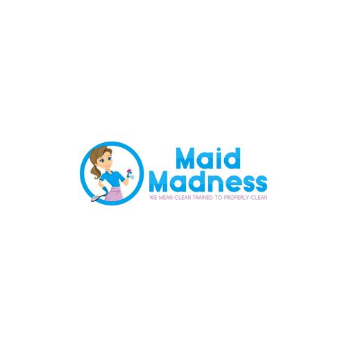 logo concept for Maid Madness