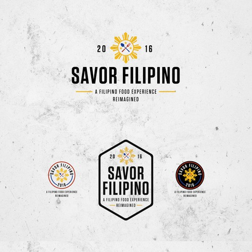 Logo Proposal for Savor Filipino 2016