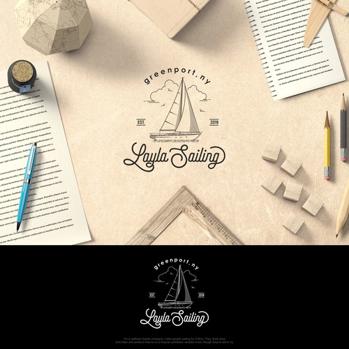 Sailboat Charter needs clean, unique, logo