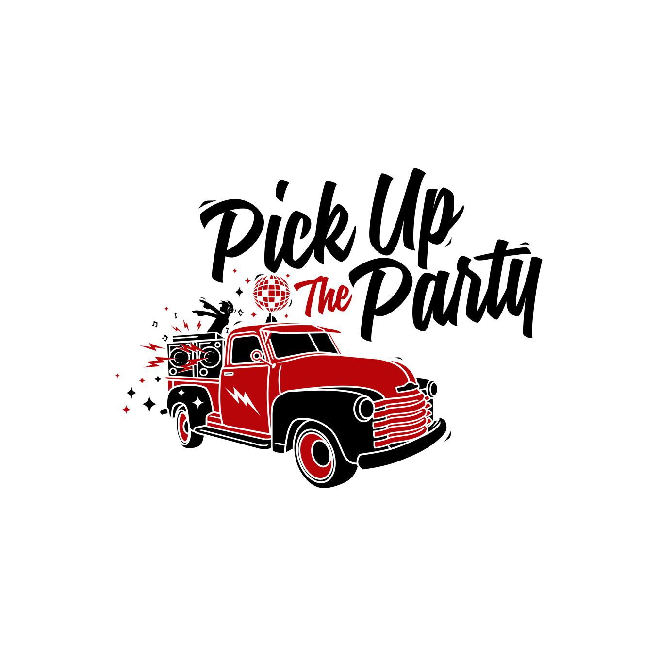 Pick up The party ... let the logo tell the story
