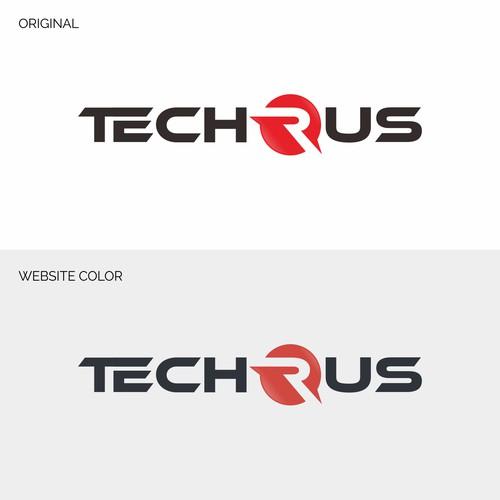 Tech logo for Techrus.com