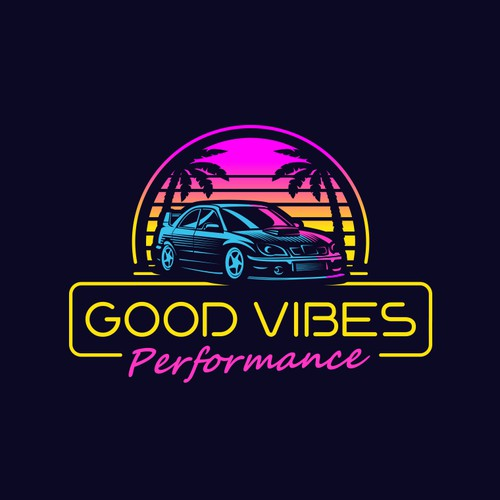 "Logo for ""Good Vibes Performance#."