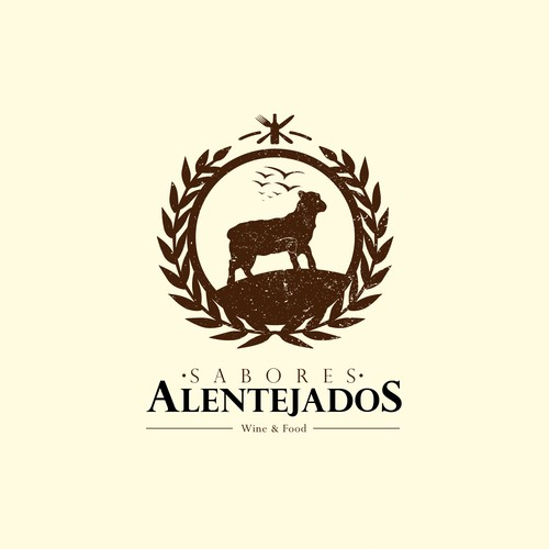 Logo for Portuguese restaurant