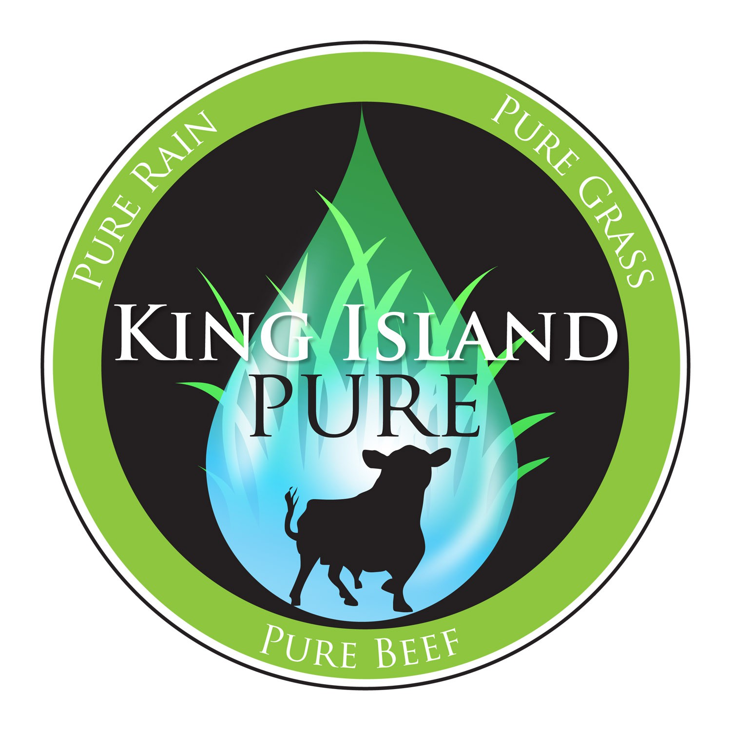 King Island Pure needs a new logo and business card