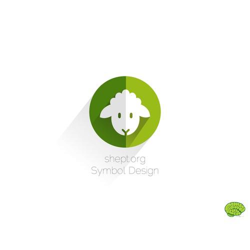 Sheep symbol representing shept.org