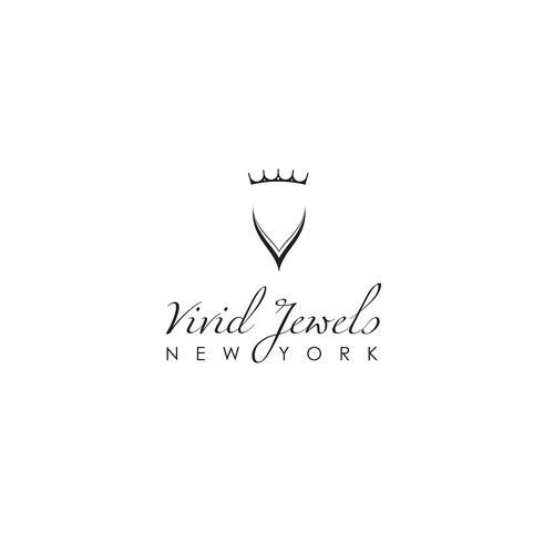 Create a classy logo for a high end diamond jewelry.
