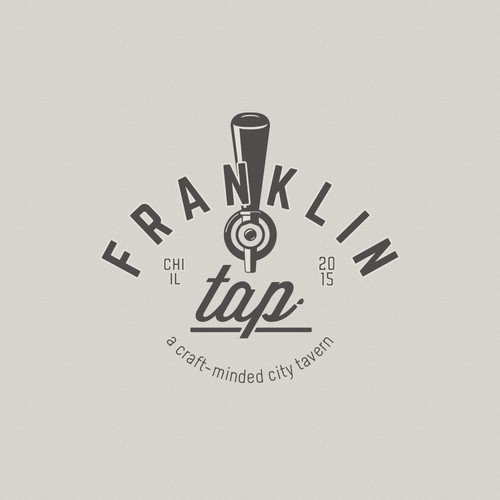 traditional logo for craft beer tavern