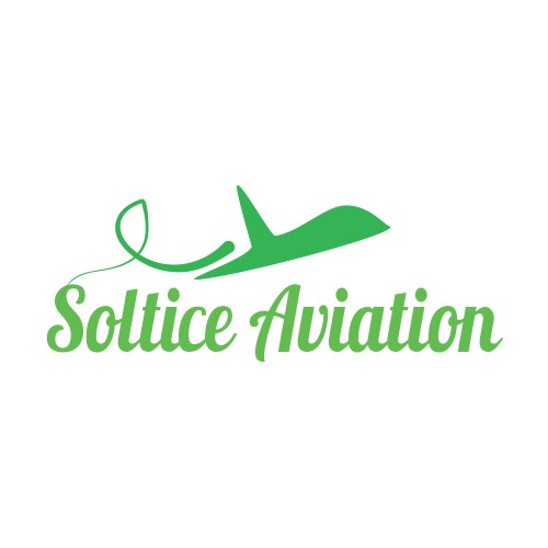Create a logo for a private jet company - Solstice Aviation
