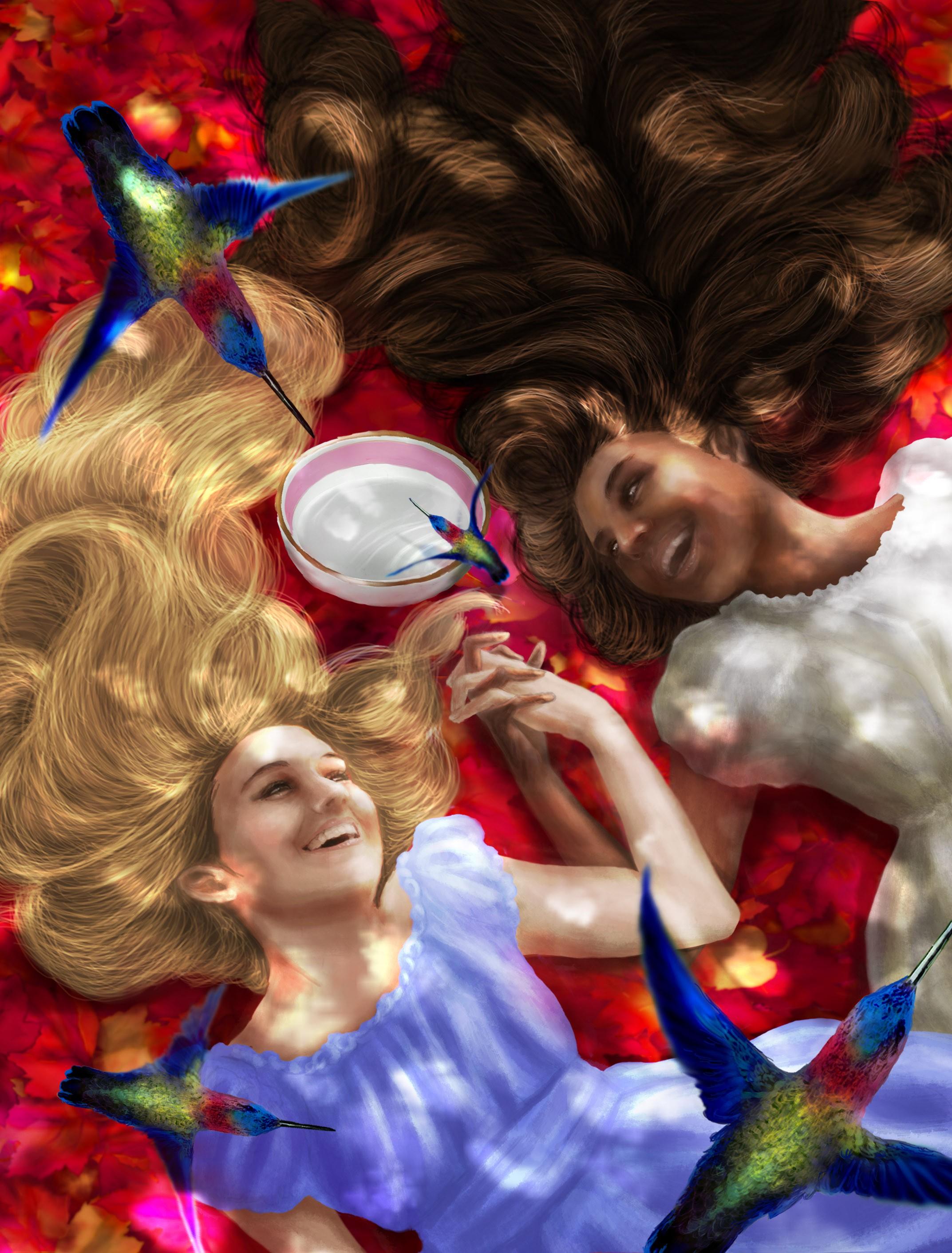 Design A Book Cover for Historical Middle Grade Novel for Girls - Antebellum South