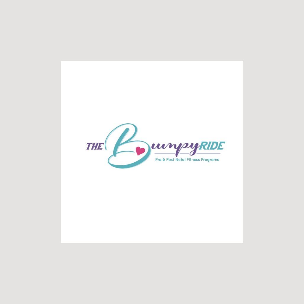 Fun logo design for pregnancy workout programs